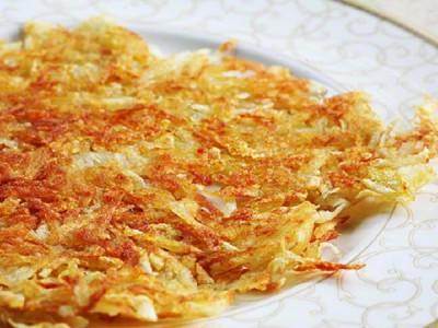 Хрустящие картофельные оладьи