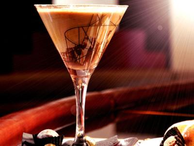 Коктейль шоколадный крюшон