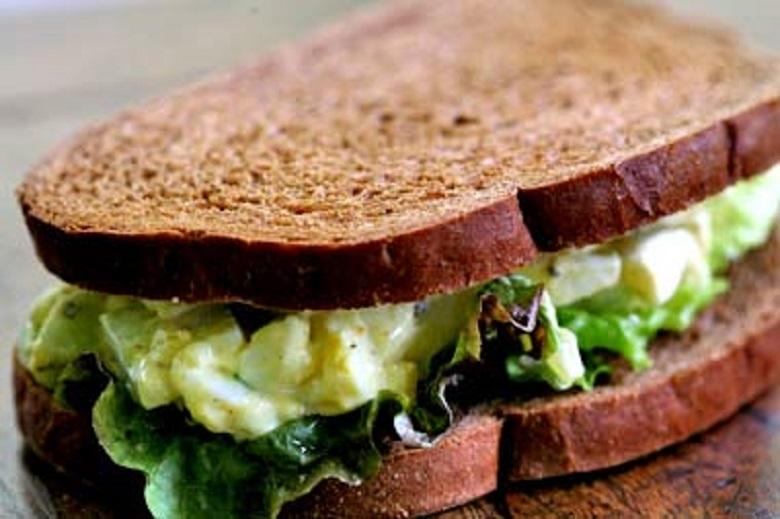Сэндвич с яйцом