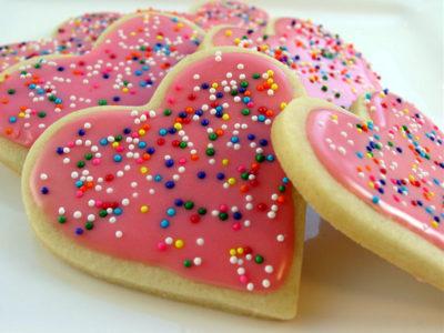 Печенье ко дню всех влюбленных