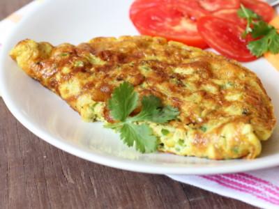 Овощная фритата с сыром по-итальянски
