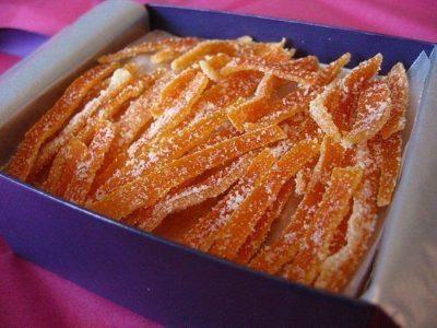 Цукаты из морковки