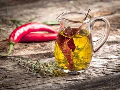 Оливковое масло с травами