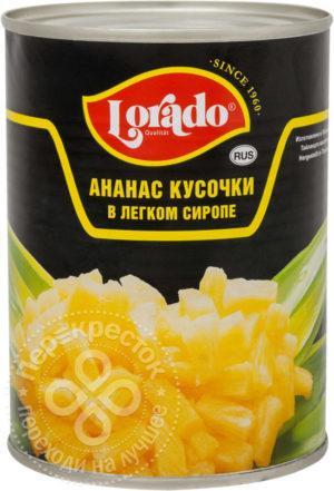 для рецепта Ананасы Lorado Кусочки в легком сиропе 580мл