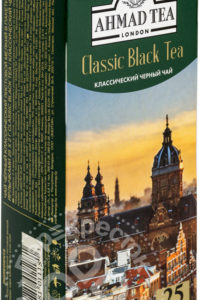 для рецепта Чай черный Ahmad Tea Classic Black Tea 25 пак