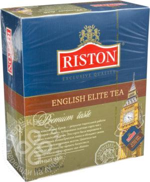 для рецепта Чай черный Riston English Elite Tea 100 пак