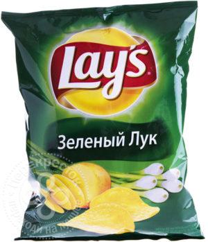 для рецепта Чипсы Lays Зеленый Лук 80г