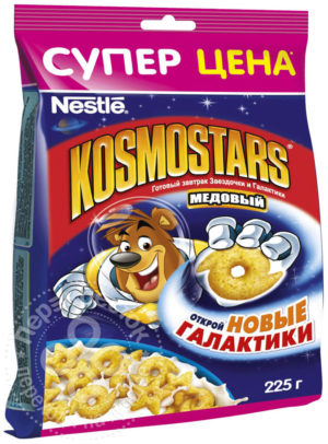 для рецепта Готовый завтрак Kosmostars Медовый 225г