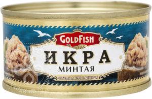 для рецепта Икра минтая Gold Fish 120г