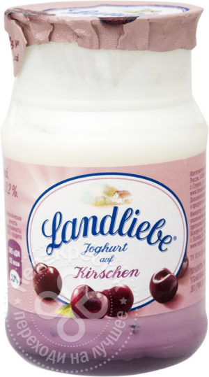 для рецепта Йогурт Landliebe с вишней 3.2% 150г