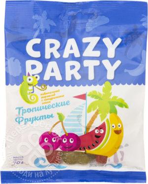 для рецепта Мармелад Crazy Party жевательный Тропические Фрукты 70г