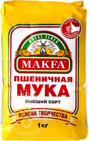 для рецепта Мука Makfa Пшеничная высший сорт 1кг