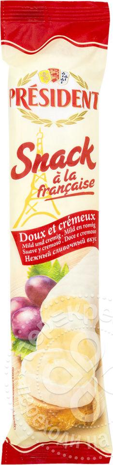для рецепта President Snack a la Francaise мягкий с белой плесенью 60% 170г