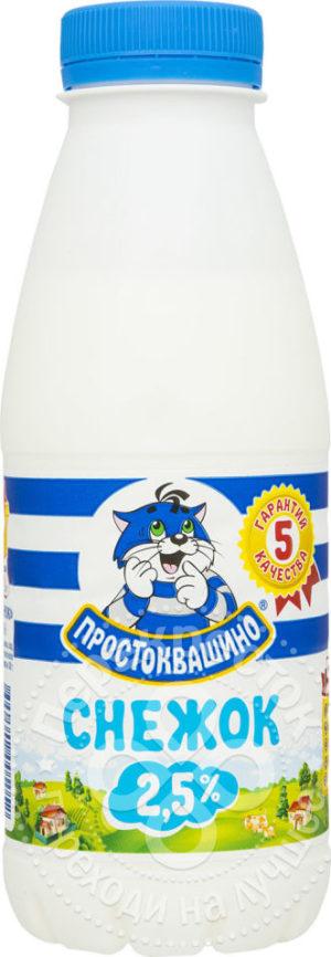 для рецепта Продукт кисломолочный Простоквашино Снежок 2.5% 430мл