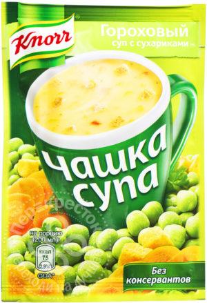 для рецепта Суп Knorr Чашка Супа Гороховый суп с сухариками 21г