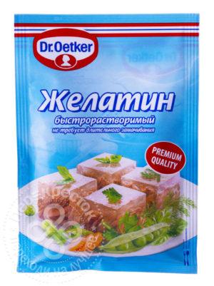 для рецепта Желатин Dr.Oetker пищевой быстрорастворимый 30г