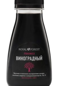 для рецепта Виноградный пекмез Royal Forest