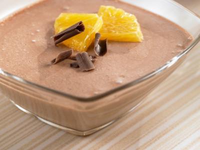 Быстрый в приготовление шоколадный йогурт