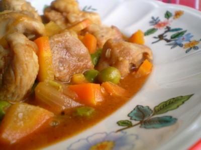 Индейка с овощами по-итальянски