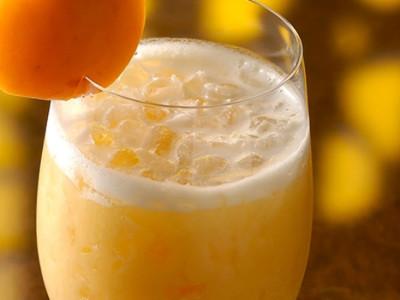 Коктейль абрикосовое наслаждение на молоке