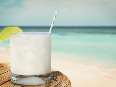 Сливочно-лимонный алкогольный коктейль Скорпион
