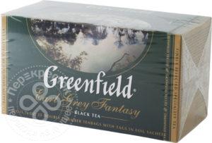 для рецепта Чай черный Greenfield Earl Grey Fantasy 25 пак