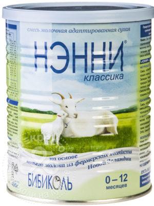 для рецепта Смесь Нэнни Классика на основе козьего молока 400г