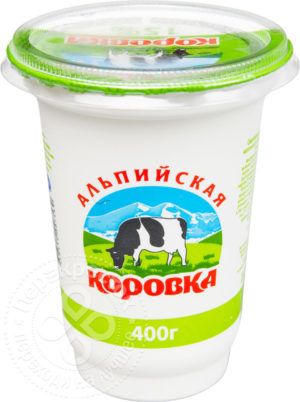 для рецепта Сметанный продукт Альпийская коровка 15% 400г