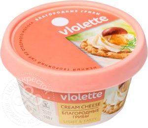 для рецепта Сыр творожный Violette Благородные грибы 70% 140г